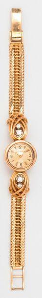 JAEGER LECOULTRE - Bracelet montre de dame...
