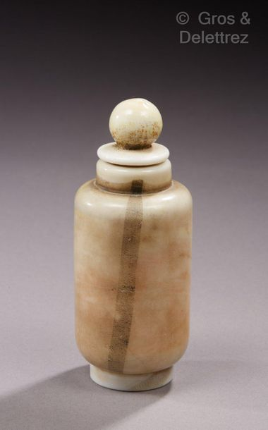 MVM CAPPELLIN - Design. Carlo Scarpa Flacon en verre « latimo»  Vers 1930  H : 12...