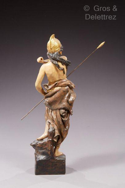 Manufacture de Friedrich GOLDSCHEIDER La reine des Amazones  Modèle N°1741 par Cherc....