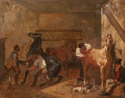 École FRANÇAISE, vers1830