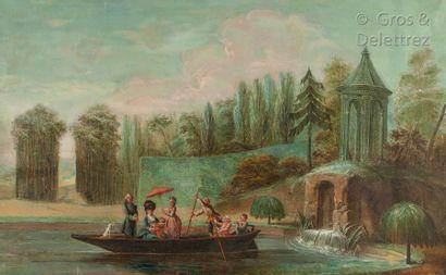 École FRANÇAISE du XVIIIe siècle, entourage dePILLEMENT