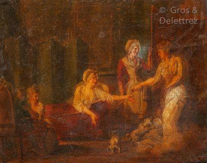 École FRANÇAISE de la fin du XVIIIesiècle