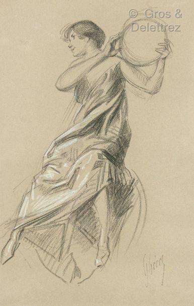 Jules CHERET (1839 Paris – 1932 Nice )  La...