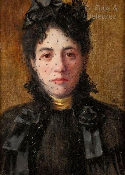 Albert Léopold PIERSON (XIX-Xxe siècle)  Femme...
