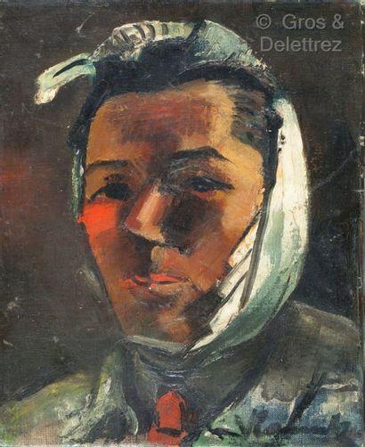 Ecole du XXème siècle  Portrait d'un artiste...