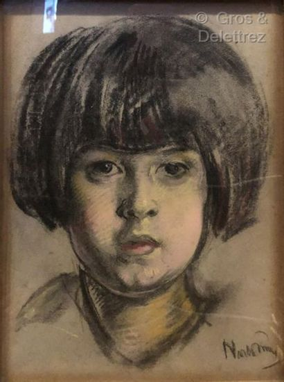 Eugène NARBONNE (1885-1973) ?  Portrait de...