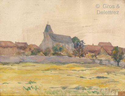 Lucien-Jacques DELETTREZ (1890-1956)  Vue...