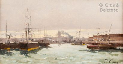 Jacques LIEVIN (1854 Paris - 1941 Chérence)...