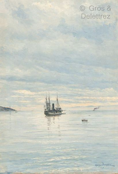 Georges Paul Joseph DARASSE (1861-1904)  Navire...