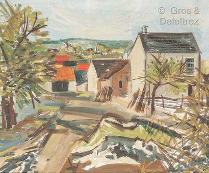 Alexandre GANESCO (Uccle 1910 - Saujon 1979)...