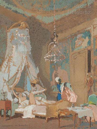 Lucien Victor GUIRAND de SCEVOLA (1871 Sète...