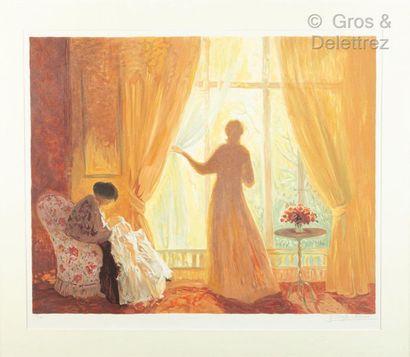 Yvonne CHEFFER-DELOUIS (1910)  En attendant...
