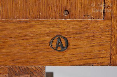 JACqUes-éMIle rUhlMAnn (1879-1933) Rare et exceptionnel cabinet de collectionneur...