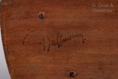 JACqUes-éMIle rUhlMAnn (1879-1933) Porte-lettres et un buvard  Estampillé sur le...