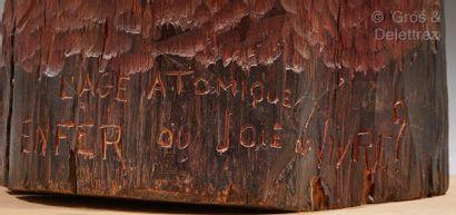 Ferdinand PARPAN (1902-2004) L'Age atomique Enfer ou Joie de Vivre ?  Sculpture en...