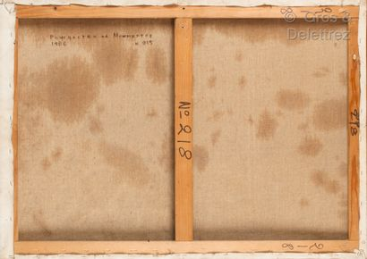 Paul élie gernez (1888-1948) Composition aux trois poires  Huile sur panneau  Signé...