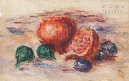 Attribué à Pierre-Auguste RENOIR (1841-1919)