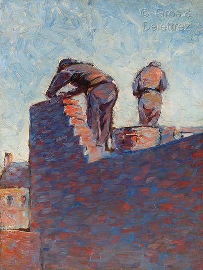 Entourage de Maximilien LUCE (1858-1941)