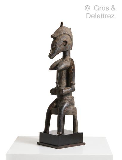 Statue de divination tugubele  Peuple Sénoufo,...