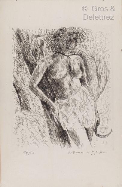 André DUNOYER DE SEGONZAC (1884 -1974)