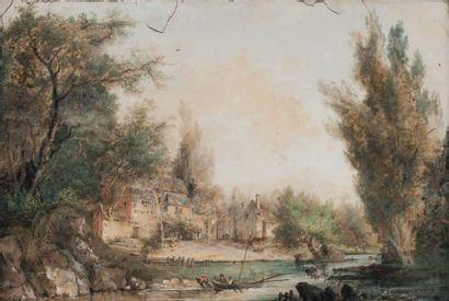 Attribué à Louis BELANGER (1736 - 1816)