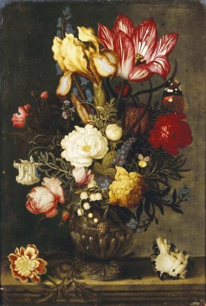 Ambrosius BOSSCHAERT le vieux (Anvers 1573 - La Haye 1621)