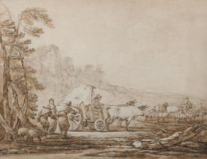 Attribué à Francesco CASANOVA (Londres 1727 - Vorderbrühl 1803)