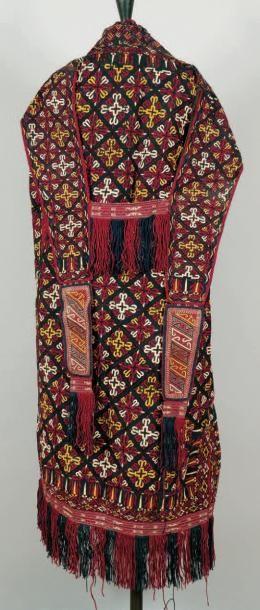 Costume Turkmène Tcharpy Turkmène d'Asie...