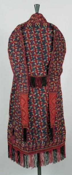 Un manteau. Chirpy (Tchirpy) Turcoman, Asie...