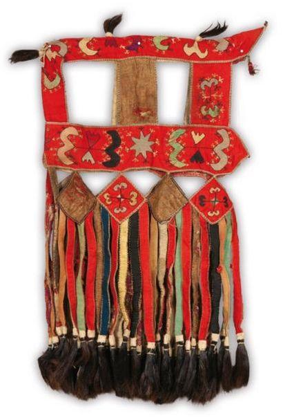 Un élément de décoration pour un animal Mongolie...