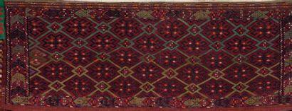 Un Torba Afghan Sacoche fait de tissage (soumakh)....