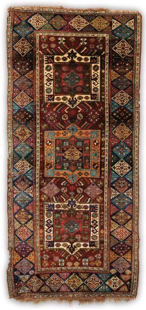 Un tapis du Nord Ouest de la Perse, Ethnie...