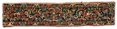 Un bandeau de lit Louis XIV Travail dit aux...
