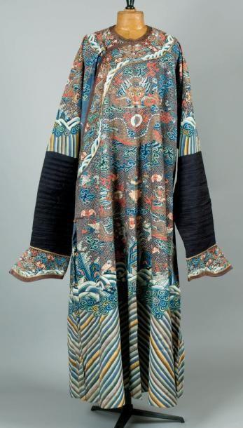 Un exceptionnel manteau de Cour en Kosseu,...