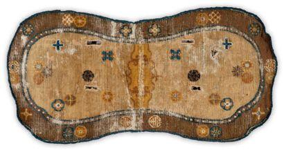 Un tapis de selle chinois de la période Chien...