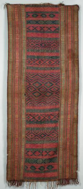 Un tissage du Bhutan A Bhutanese weaving...