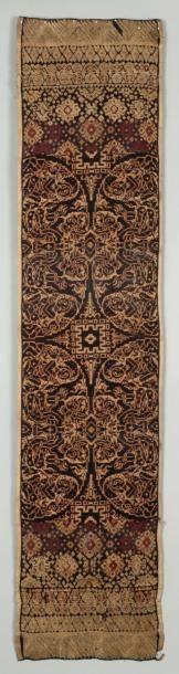 Deux textiles balinais (Tengganan) Two Balenese...