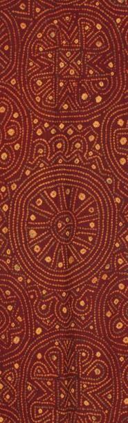Un textile dit tie-dye Textile indien sur...