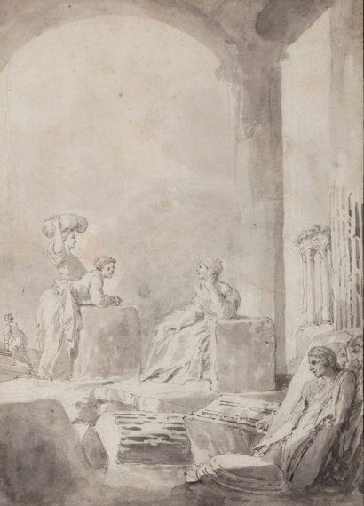 Attribué à Giovanni Paolo PANINI (1691- 1765)