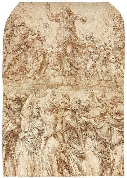 Attribué à Stefano Dall' ARZERE ( Actif à Padoue entre 1520 et 1570)