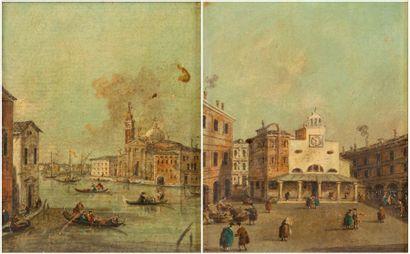 Suiveur de Giacomo GUARDI (1764-1835)