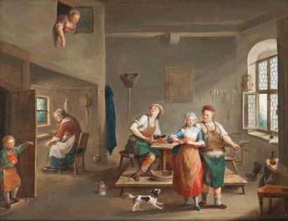 Nicolas Louis DELLERIVE (1755-1818)