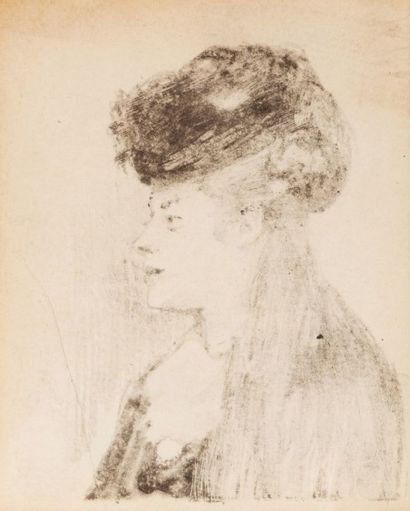 Attribué à Edgar DEGAS (1835-1917)