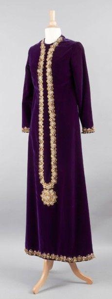 Jeanne LANVIN, haute couture N°84416, circa 1970
