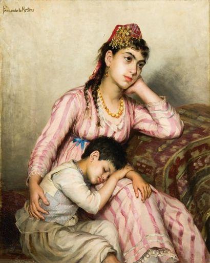 Fernande de MERTENS (XIXème siècle)