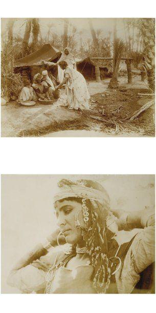 Tunisie et Algérie, c. 1900.