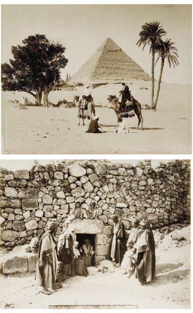 Terre Sainte et Egypte, c. 1870.