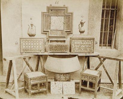 Antiquités orientales, c. 1870.