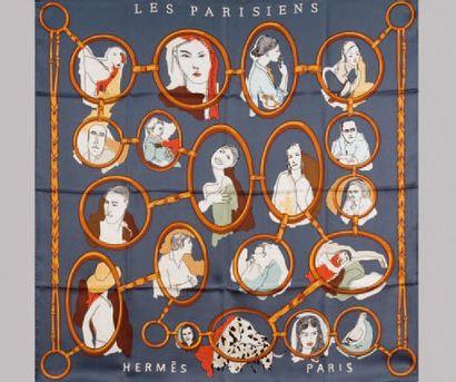 HERMÈS Paris made in France *Carré en soie...