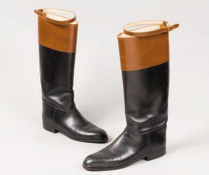 JOHN LOBB Paris *Paire de bottes d'équitation...